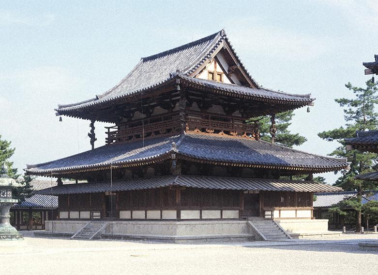 Main Hall Kondo Horyuji Temple
